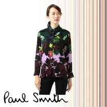 Paul Smith Flower Patterns Long Sleeves Medium Shirts & Blouses