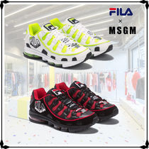 MSGM Street Style Collaboration Sneakers