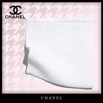 CHANEL Unisex Plain Handkerchief