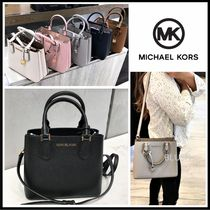 Michael Kors 2WAY Plain Leather Crossbody Shoulder Bags