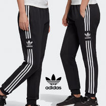 adidas Stripes Casual Style Street Style Cotton Pants