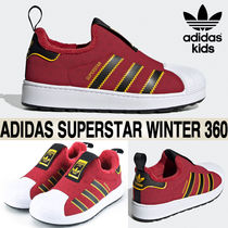 adidas SUPERSTAR Blended Fabrics Street Style Kids Girl Sneakers