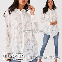 Little Mistress Casual Style Long Sleeves Fringes Shirts & Blouses