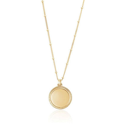 Costume Jewelry Casual Style Coin Silver 18K Gold