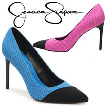 Jessica Simpson Casual Style Plain Pin Heels Party Style