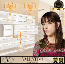 VALENTINO Casual Style Party Style Earrings
