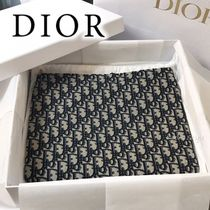 Christian Dior Leather Elegant Style Logo Clutches