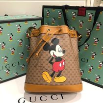 GUCCI GG Supreme Unisex Canvas Street Style Collaboration