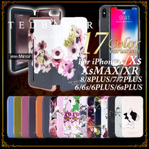 TED BAKER Flower Patterns Plain Smart Phone Cases