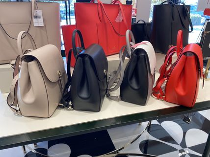 kate spade new york 2WAY Plain Leather Backpacks