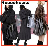 Raucohouse Casual Style Unisex Street Style Shoulder Bags