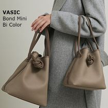 VASIC BOND Casual Style Leather Shoulder Bags