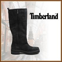 Timberland Lace-up Casual Style Plain Leather Party Style Elegant Style