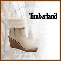 Timberland Casual Style Plain Leather Party Style Office Style