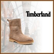 Timberland Casual Style Plain Leather Office Style Elegant Style