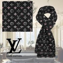 Louis Vuitton Check With Louis Winter Stole