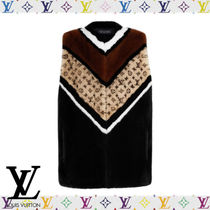 Louis Vuitton Mink Fur Intarsia Gilet