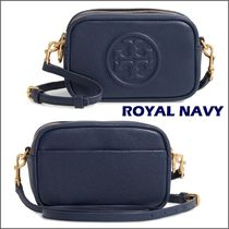 Tory Burch Casual Style 2WAY Leather Crossbody Logo Shoulder Bags