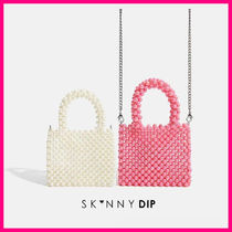 SKINNYDIP Casual Style Plain Party Style Elegant Style Shoulder Bags