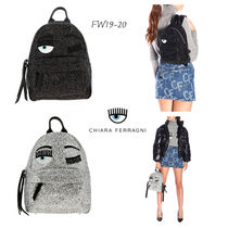 Chiara Ferragni Casual Style Street Style Backpacks