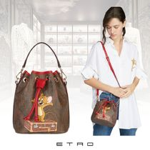 ETRO Paisley Casual Style 2WAY Party Style Formal Style  Logo
