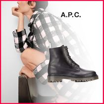 A.P.C. Leather Boots Boots