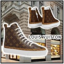 Louis Vuitton 2020 SS STELLAR SNEAKER BOOT brown more sneakers