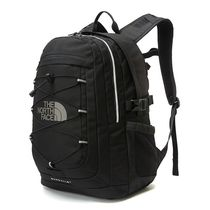 THE NORTH FACE WHITE LABEL Casual Style Unisex Street Style A4 Plain Logo Backpacks