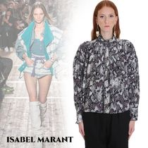 Isabel Marant Casual Style Silk Long Sleeves Other Animal Patterns Medium