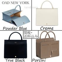 OAD NEW YORK Casual Style 2WAY Plain Leather Elegant Style Shoulder Bags