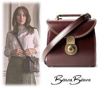BearaBeara Casual Style Leather Shoulder Bags