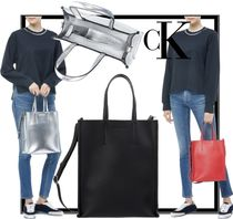 Calvin Klein Casual Style Unisex Totes