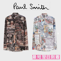 Paul Smith Long Sleeves Cotton Shirts