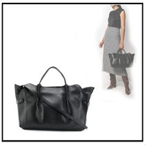 FABIANA FILIPPI Casual Style 2WAY Leather Party Style Office Style