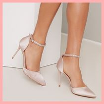 Chi Chi London Pin Heels Party Style With Jewels Pointed Toe Pumps & Mules