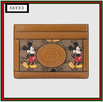 GUCCI Leather Card Holders
