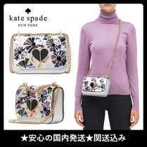 kate spade new york NICOLA Flower Patterns 2WAY Chain Party Style Elegant Style