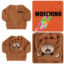 Moschino Unisex Street Style Home Party Ideas Kids Girl Outerwear