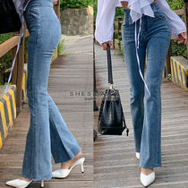 Casual Style Cotton Long Pants