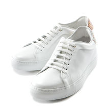 Paul Smith Stripes Street Style Plain Leather Sneakers
