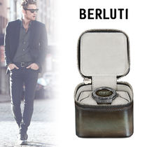 Berluti Blended Fabrics Quartz Watches Mechanical Watch