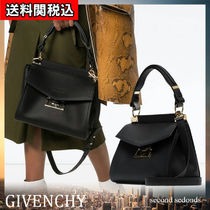 GIVENCHY Casual Style Calfskin 2WAY Plain Leather Office Style