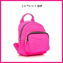 SKINNYDIP Casual Style Street Style Plain Backpacks