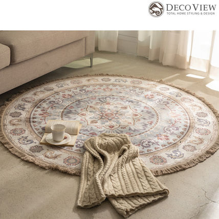 Collaboration Round Carpets & Rugs