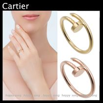 Cartier Party Style 18K Gold Elegant Style Rings