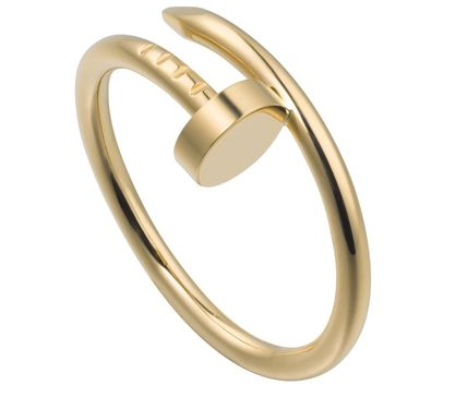 Party Style 18K Gold Elegant Style Rings