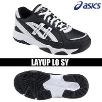 asics Round Toe Rubber Sole Casual Style Unisex Faux Fur