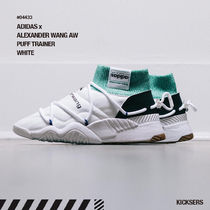 Alexander Wang Unisex Blended Fabrics Street Style Collaboration Sneakers