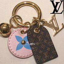 Louis Vuitton MONOGRAM Flower Patterns Monogram Unisex Blended Fabrics Leather
