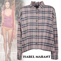Isabel Marant Other Check Patterns Casual Style Long Sleeves Medium